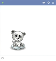Facebook Polar Bear Emoticon