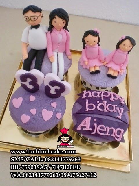 Cupcake Ulang Tahun Untuk Saudara