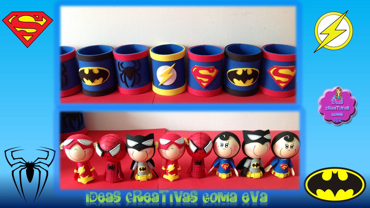 Dulceros De Super Hero's