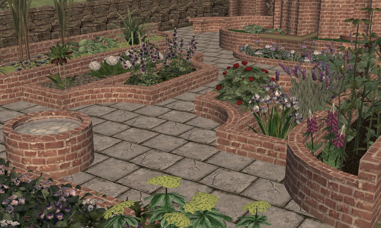 Buggy\'s retreat: Nook Folly Garden