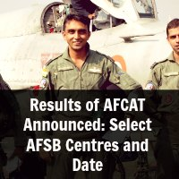 Results of AFCAT Announced: Select AFSB Centres and Date