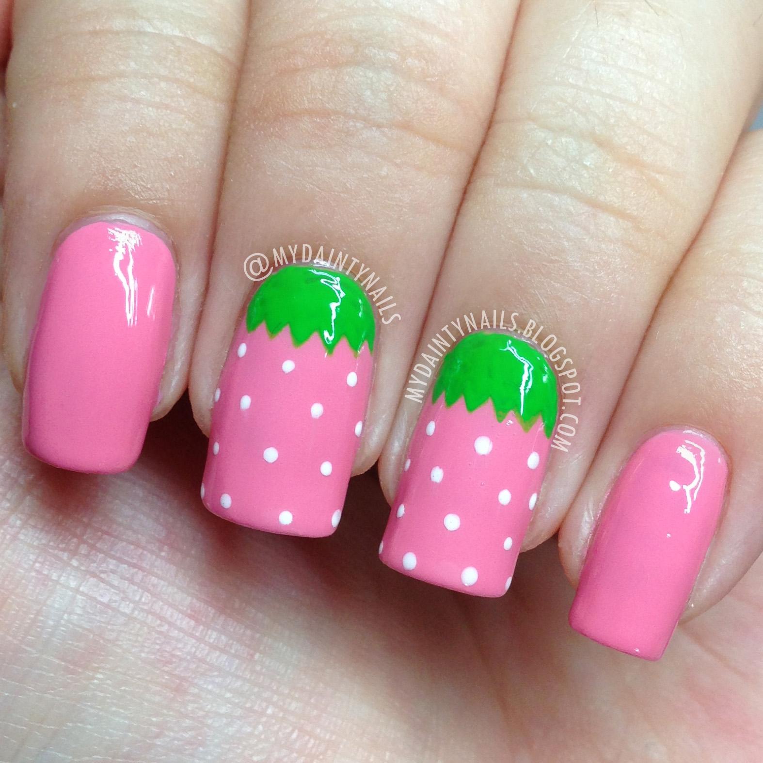 Слайдеры пирожные на ногти