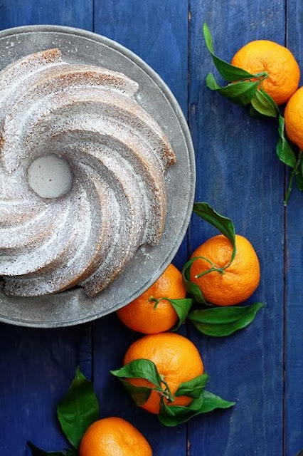 ciambella al profumo di arancia / orange bundt cake