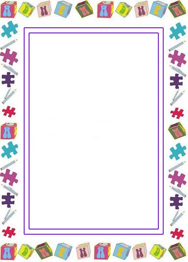 CARATULAS ESCOLARES: Cubos y Letras del Abecedario Combinados para Niños
