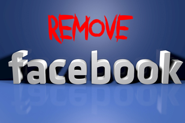 How to remove your facebook account?