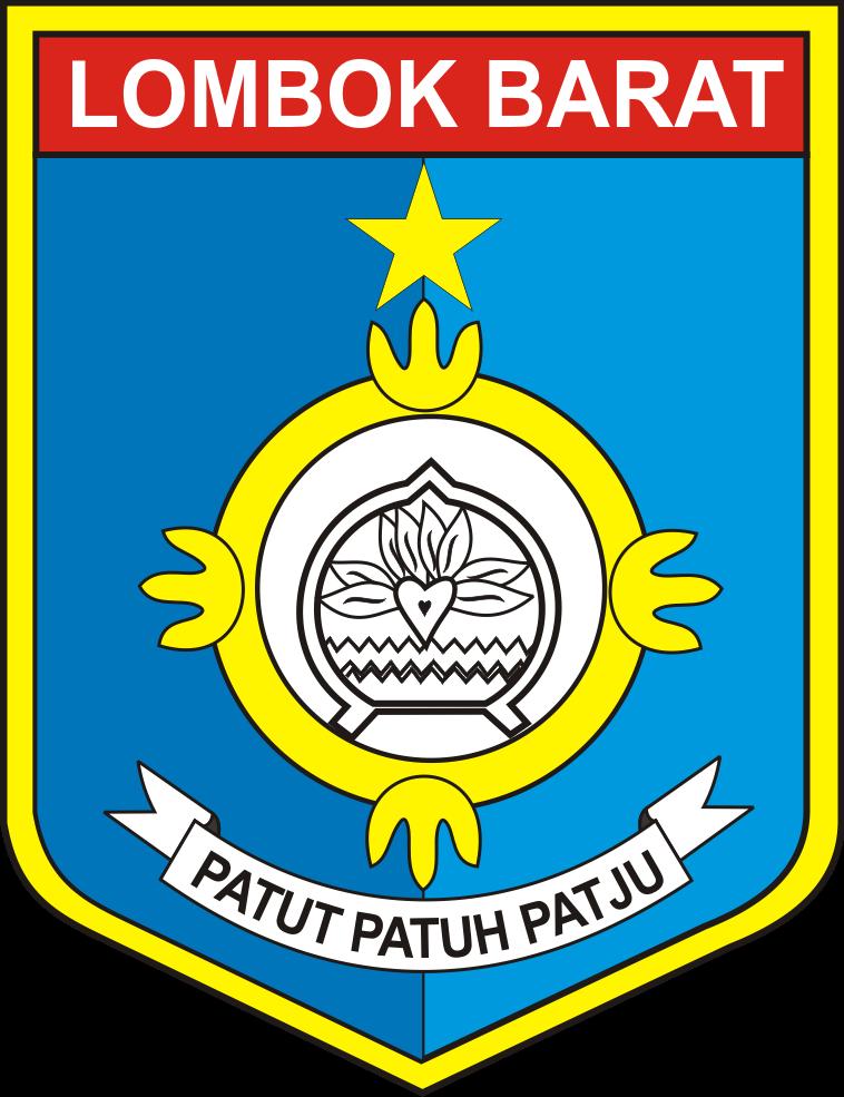 logo kabupaten lombok barat logo lambang indonesia