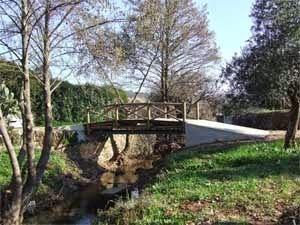 El puente internacional de El Marco