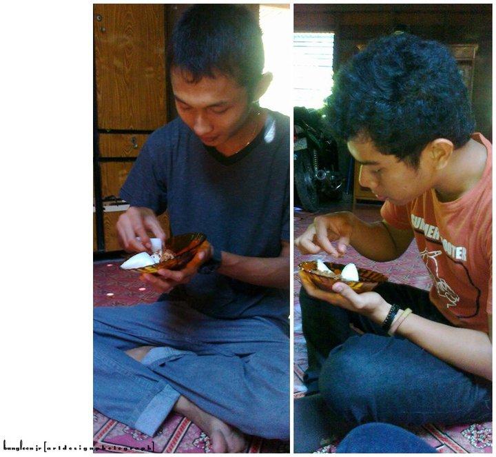 Itok and Fitra Jalan Raye