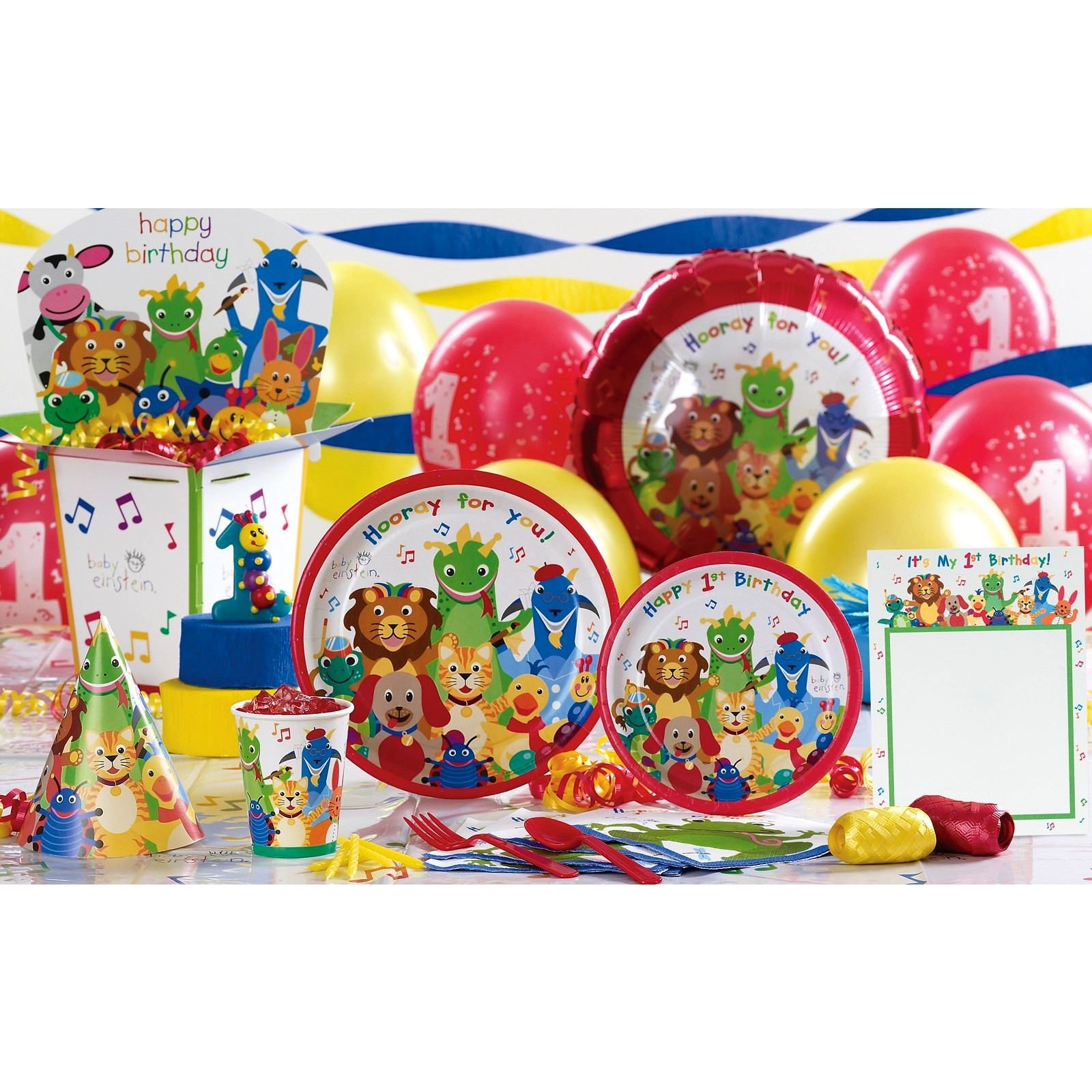 Baby einstein birthday party ideas baby einstein birthday for Baby birthday party decoration