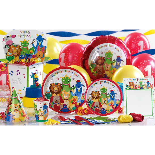 Baby Einstein Birthday Party