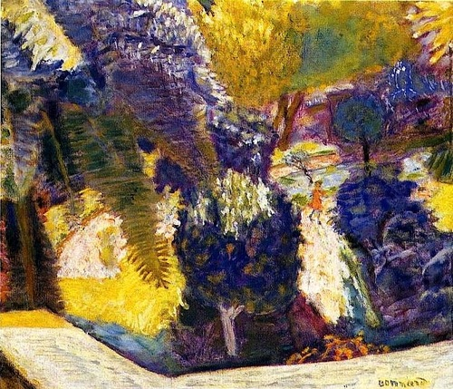 Arte pierre bonnard for Jardin terrasse