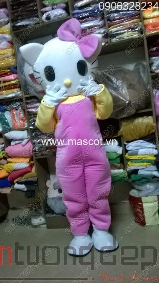 may bán thuê mascot mèo kitty giá rẻ