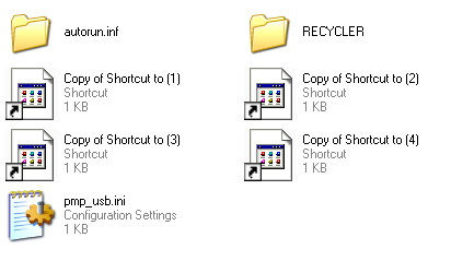 Cara Menghapus Virus Copy Shortcut Recycle Ramnit Aang