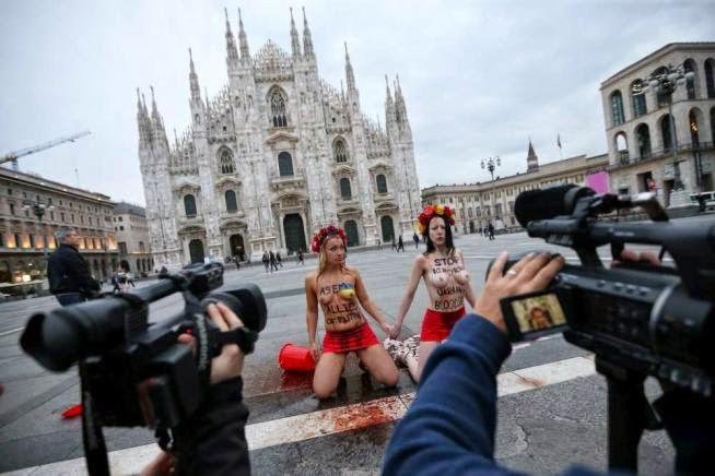 Молодые голые украинки в Милане