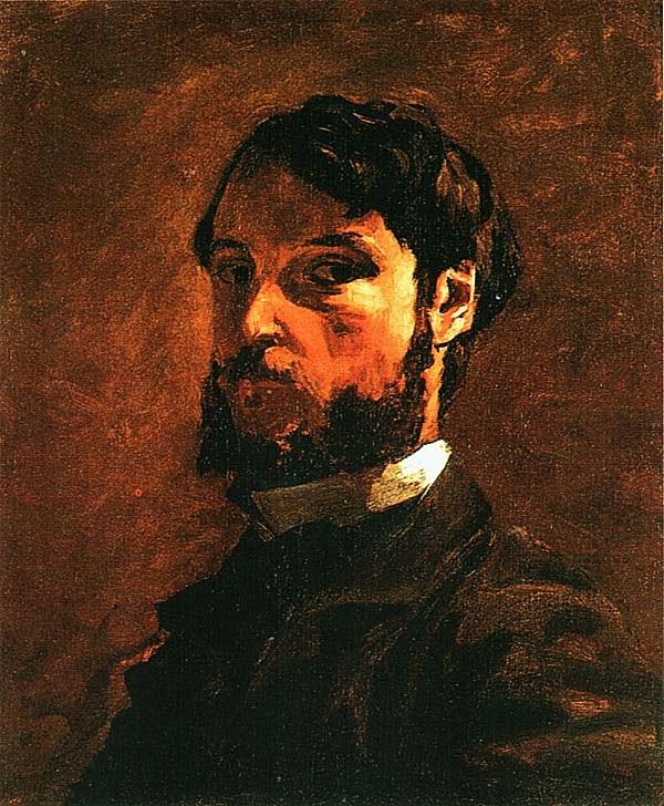 Фредерик Базиль. Автопортрет. 1867.