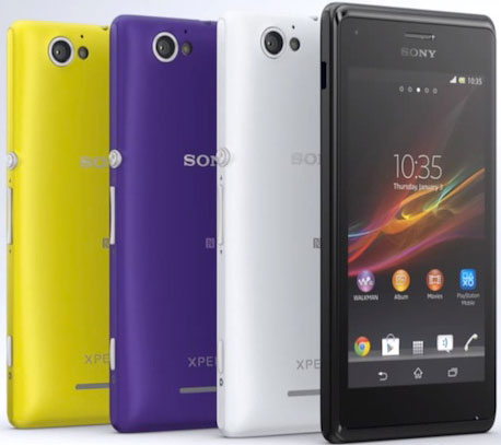 Xperia M Specification Sony Xperia M - C1904/...