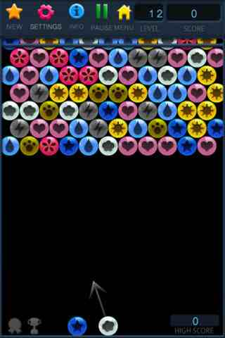 Bubble Shooter Free, iPhone Games Arcade  Free Download, iPhone Applications