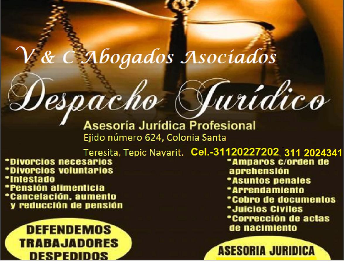 DESPACHO JURIDICO V& C  ABOGADOS ASOCIADOS