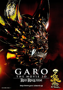 Poster Of Garo the Movie Red Requiem (2010) In Hindi English Dual Audio 300MB Compressed Small Size Pc Movie Free Download Only At World4ufree.Org