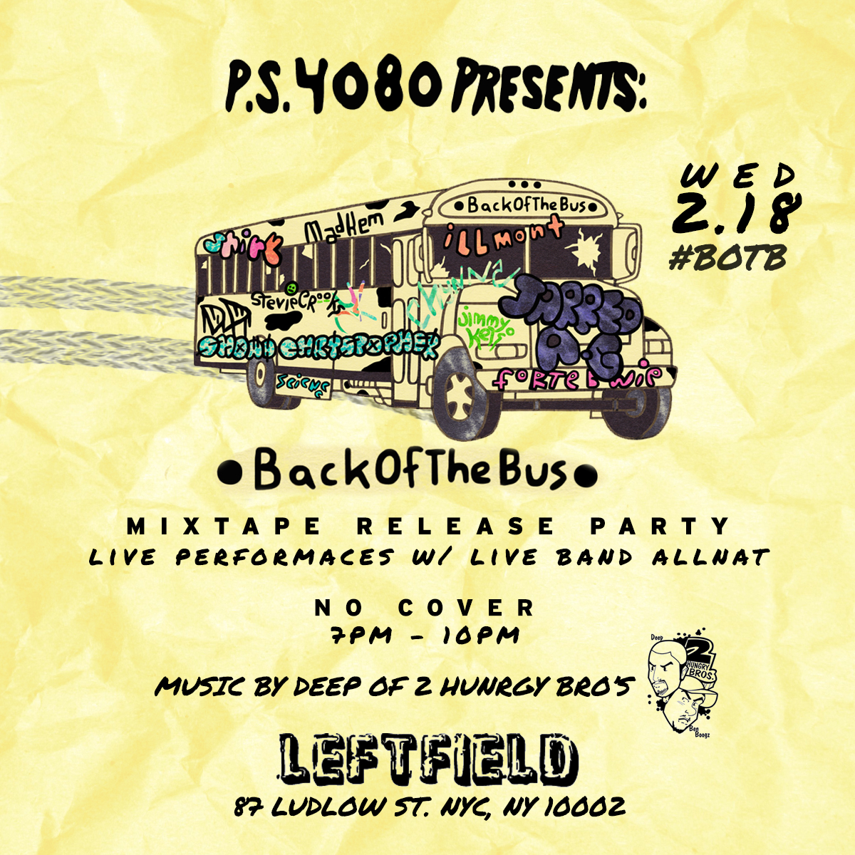 Atomlabor Blog Musiktipp - Back Of The Bus Compilation Tape