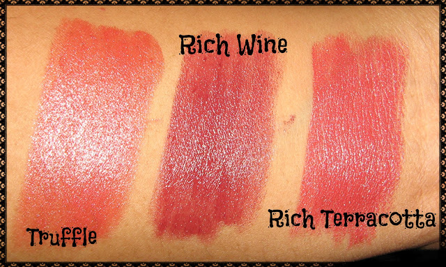 Avon Simply Pretty Lipstick Swatches 3