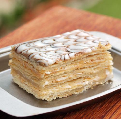 Napoleon Layered Cake Recipe