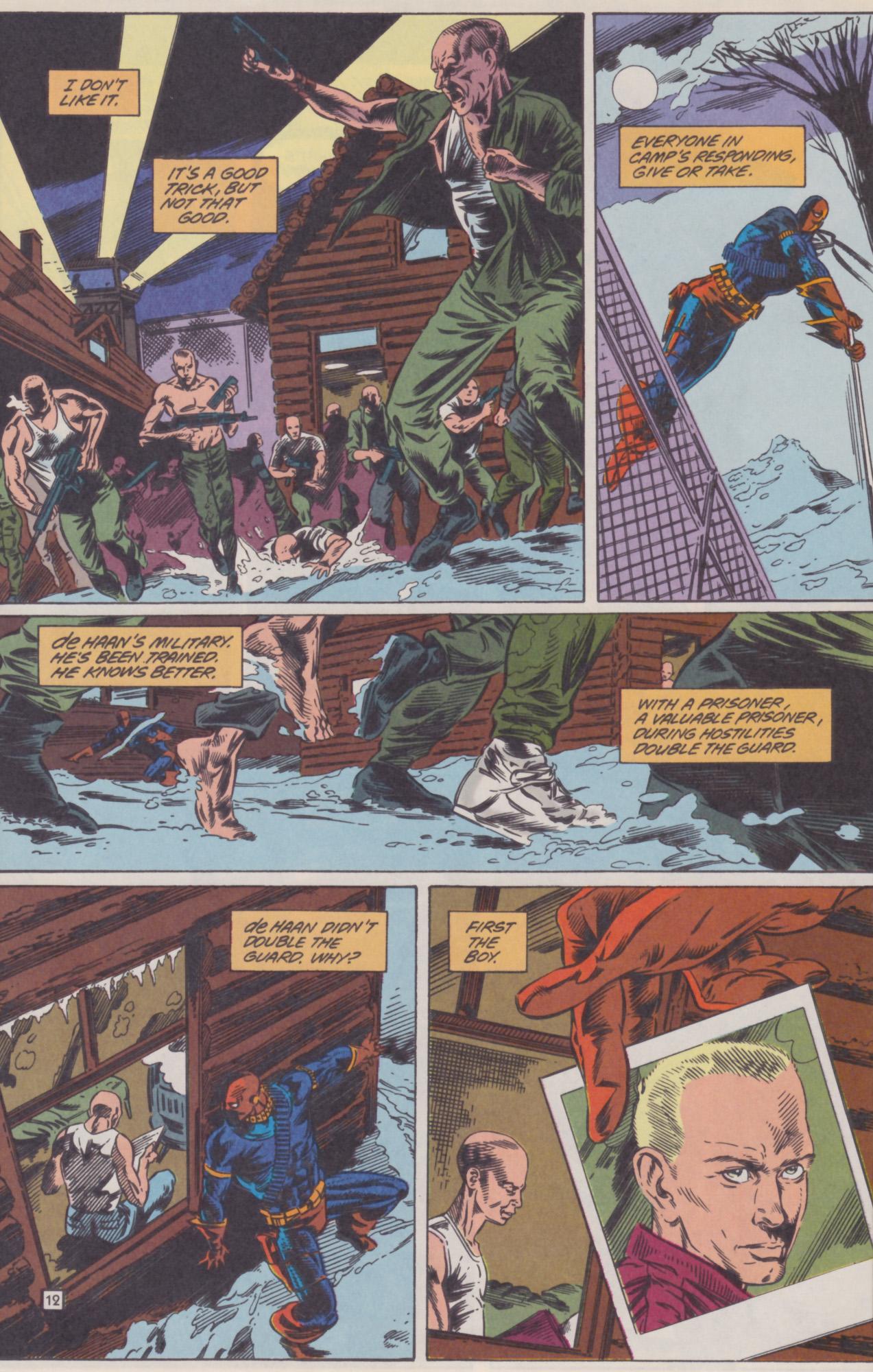 Deathstroke (1991) Issue #22 #27 - English 13