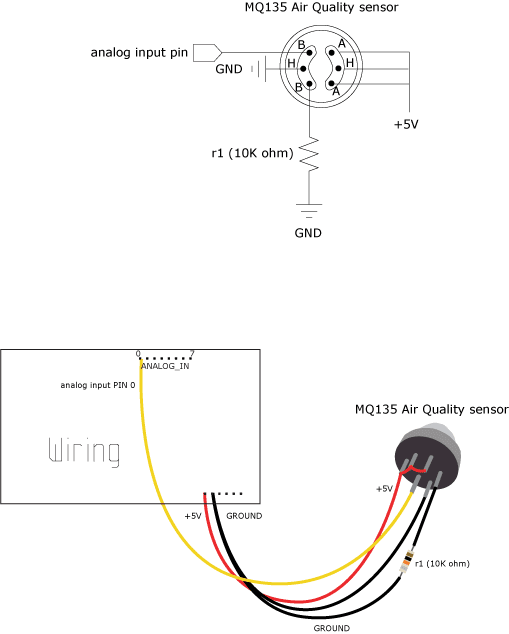 breathalyzer, wiring diagram