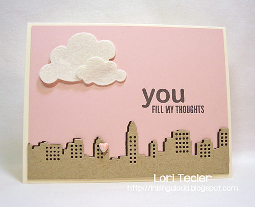 You Fill my Thoughts-designed by Lori Tecler-Inking Aloud