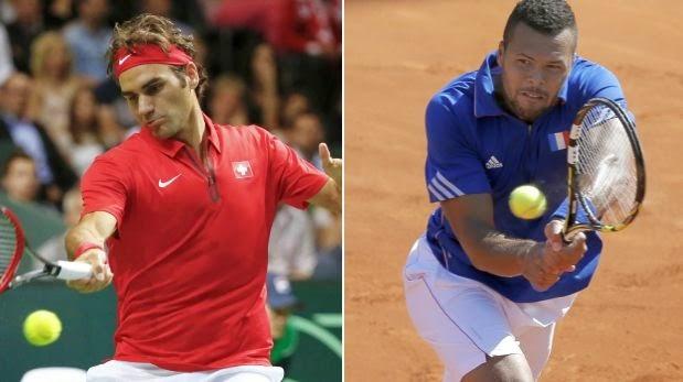 Suiza y Francia disputarán la final de la Copa Davis