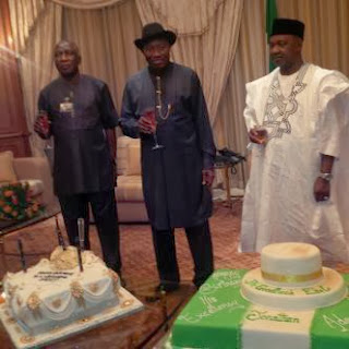 president jonathan 56th birthday