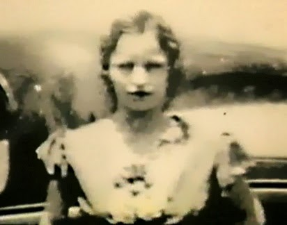 Bonnie near the end-- Still from Remembering Bonnie & Clyde