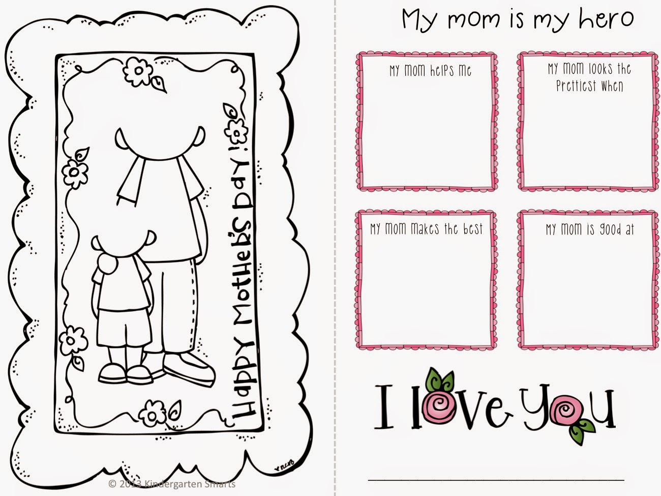 http://www.teacherspayteachers.com/Product/Mothers-Day-Mini-Book-and-Big-Book-craftivity-657245
