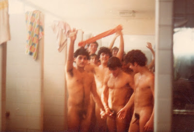 Guys locker room shower men naked