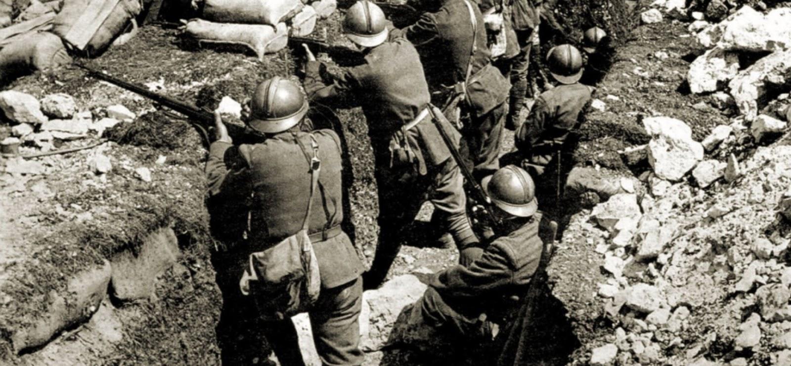 Foto prima guerra mondiale carso 73
