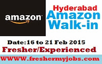 walk-in amazon,hyderabad walkins,amazon walkins