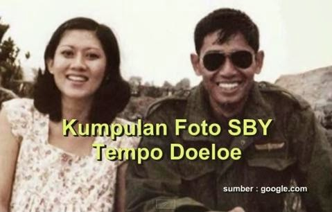 Foto Susilo Bambang Yudhoyono Waktu Masih Muda bersama Ibu Ani