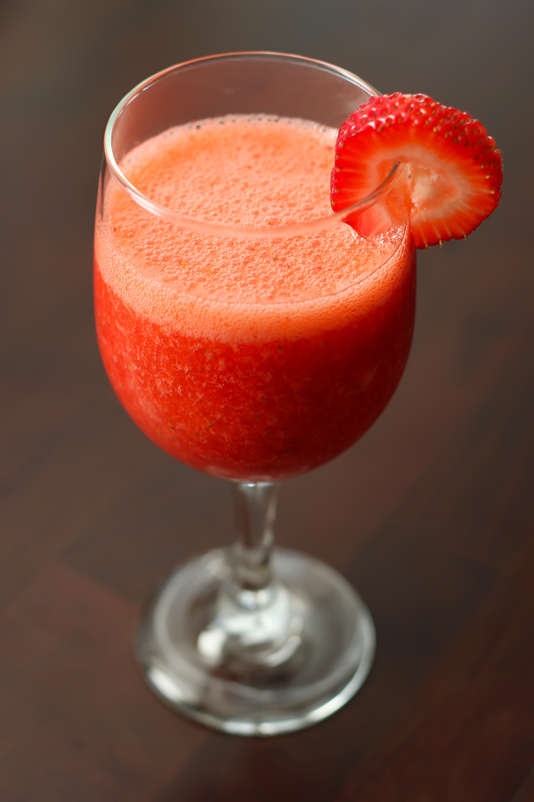 Playing It Cooley: A Perfect Strawberry Daiquiri Mocktail