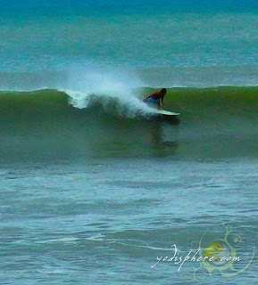 Awesome waves suitable for surfing at Baler, Aurora Quezon Philippines