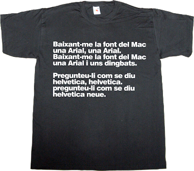 apple mac macintosh catalan helvetica arial fun traditional music t-shirt ephemeral-t-shirts rock