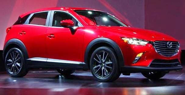 Yeni Mazda fuardaydı