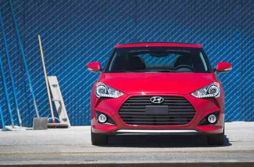 2013 Hyundai Veloster Turbo Front End