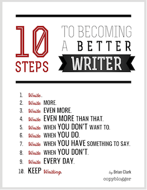 10 Secrets Writing Tips - How To Becoming a Better Writer