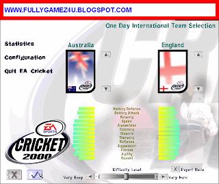 Download EA Cricket 200 Game Full Version