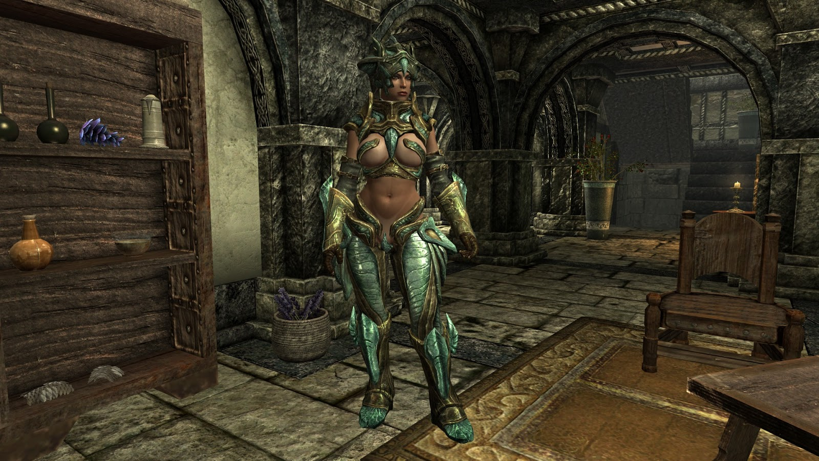skyrim how to get follower to wear armor