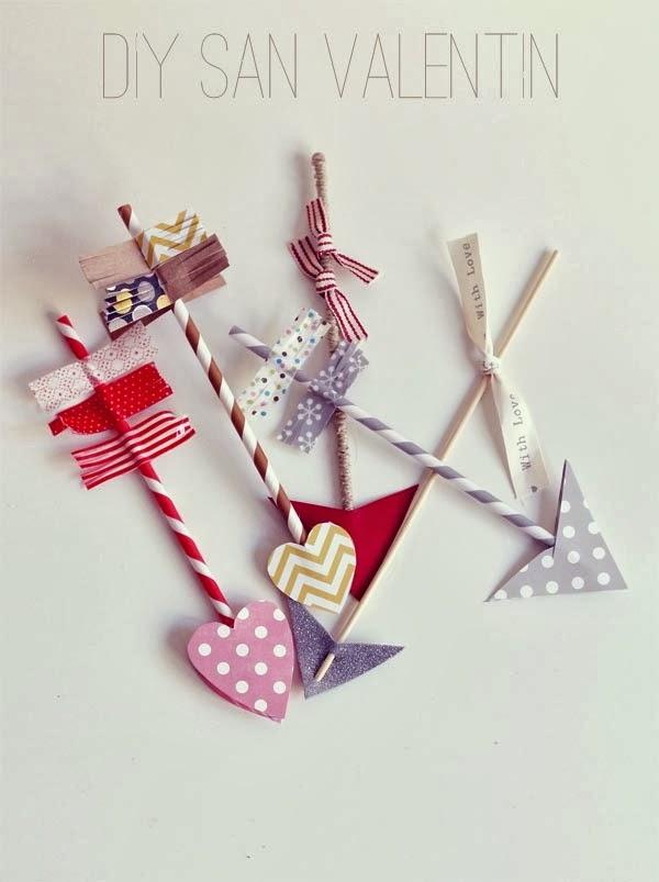 DIY Corazón flechas