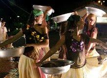 As lavadeiras são figuras tradicionais da cultura do Cerrado
