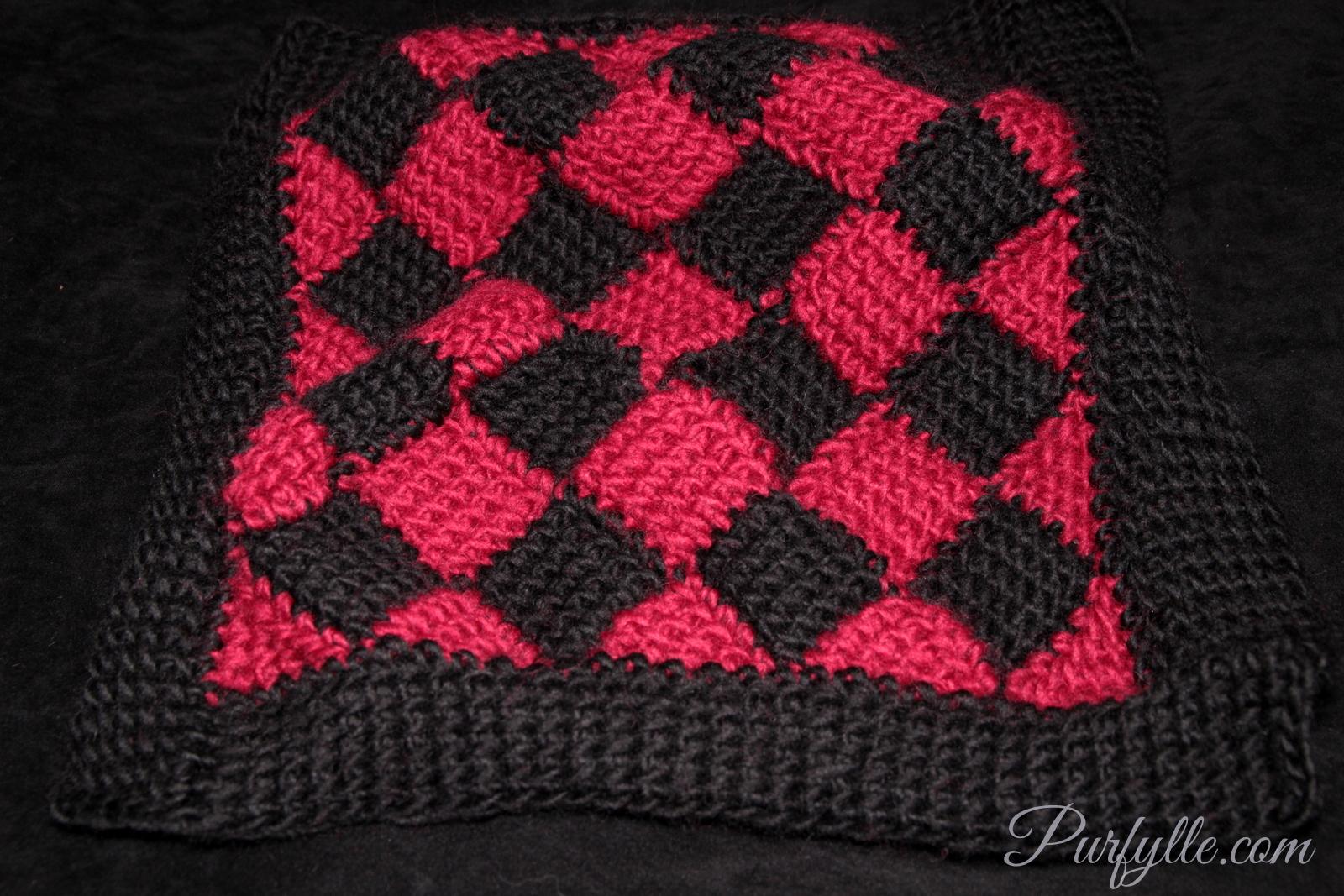 Purfylle: Crochet Spiral Beanie