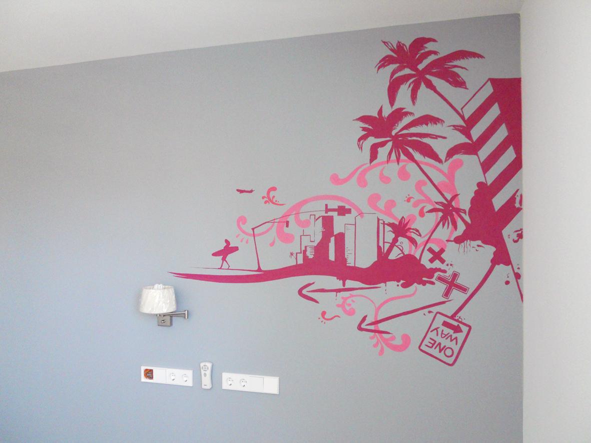 Murales Para Dormitorios De Adultos Good Free Disenos Infantiles  ~ Murales Decorativos Para Habitaciones De Adultos