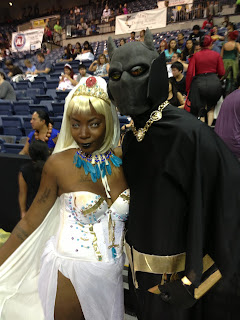 Black Panther & Storm cosplay photo